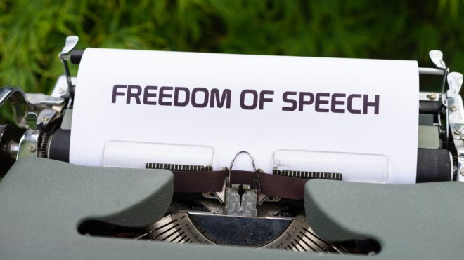 La liberté d'expression : un bien commun